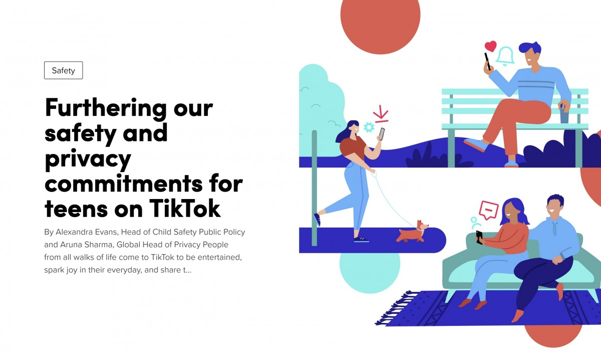 TikTok introduces notification curfew and other restrictions for teenagers