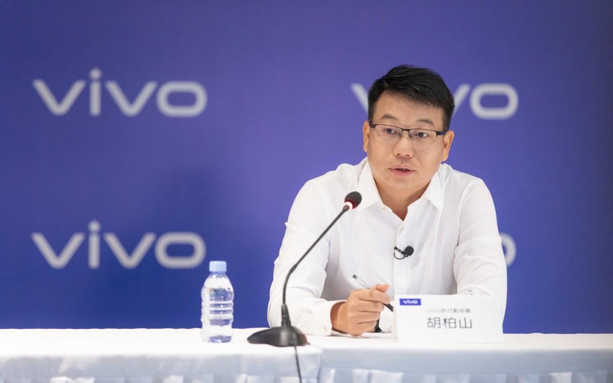 Hu Baishan, vivo VP and vivo China President
