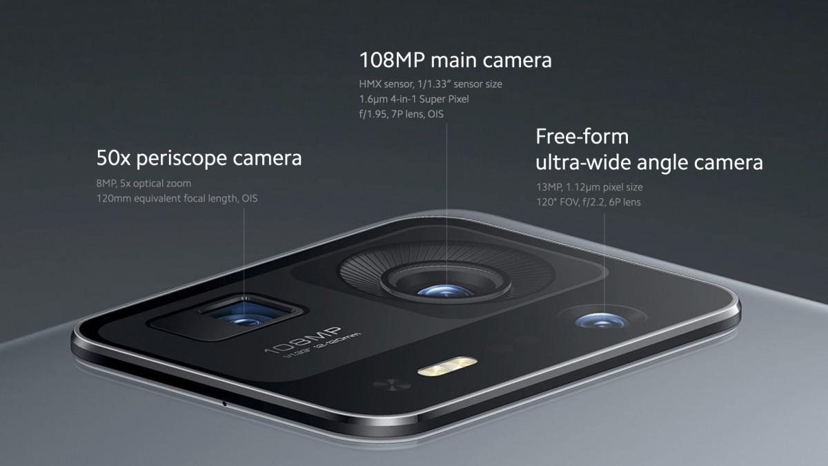 Mi Mix 4 rear camera