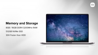 Mi Notebook Ultra comes with 11th Gen Intel CPU, up to 16GB RAM, and 512GB SSD