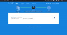 Login and status screen - Xiaomi Mi Router AX9000 review