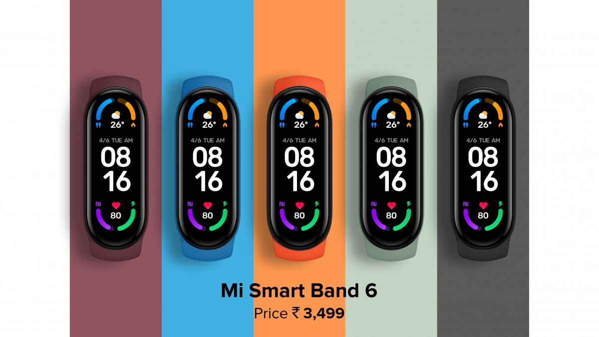Xiaomi launches Mi Band 6, Mi TV 5X, and four more products in India