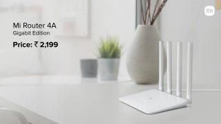 Mi Router 4A Gigabit Edition .  Mi 360 Home Security Camera 2K Pro