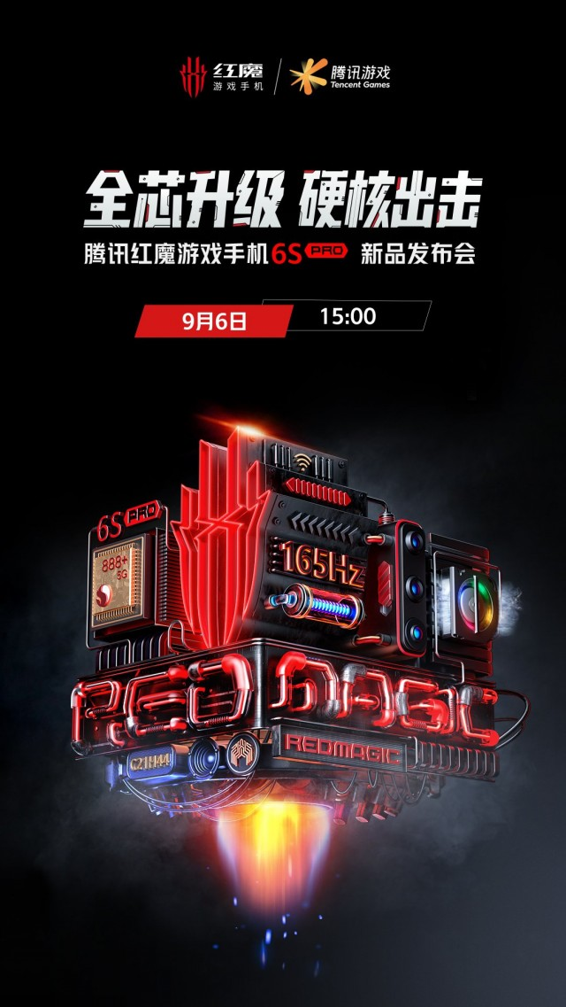 nubia Red Magic 6S Pro poster