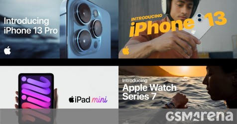 Watch the first promo videos for iPhone 13 series, Apple Watch Series 7 and iPad mini here - GSMArena.com news - GSMArena.com