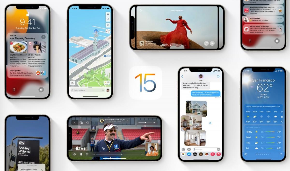 Apple now seeding iOS/iPadOS 15.1 and watchOS 8.1 beta to developers