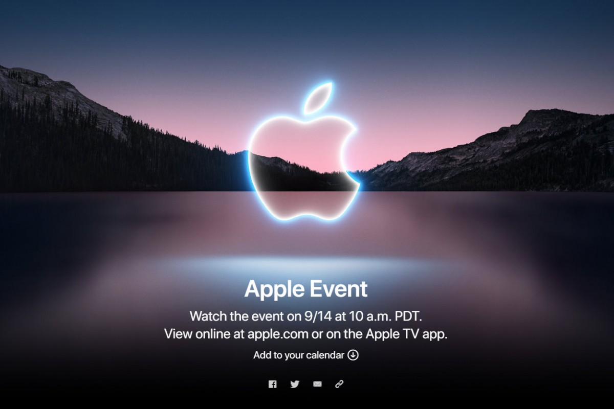 Apple confirms September 14 event, expected to announce iPhone 13