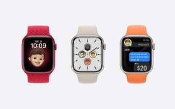 Apple Watch Series 7 detailed specs appear in internal datasheet