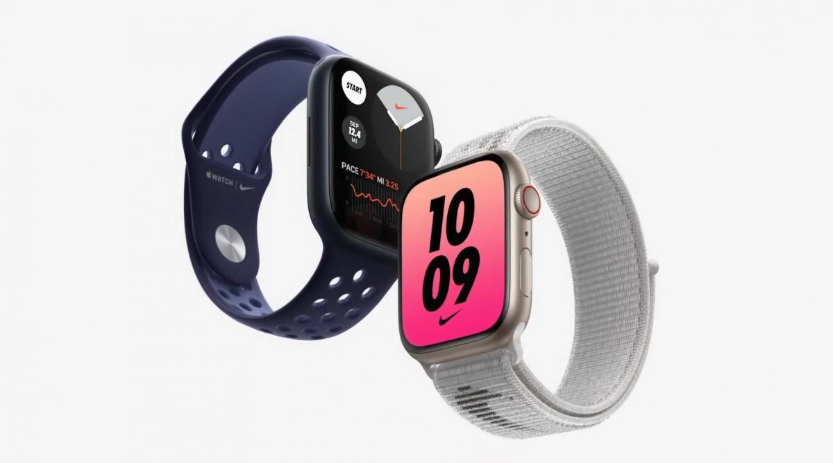 Los pedidos anticipados de Apple Watch Series 7 comienzan la próxima semana, el envío comienza a mediados de octubre