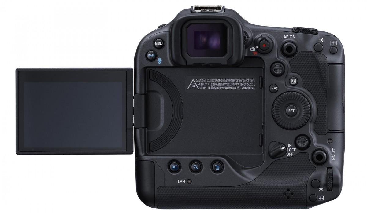 Canon announces EOS R3 with eye control autofocus