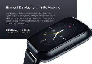 The DIZO Watch 2 has a 1.69