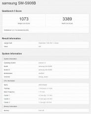 Exynos 2200 completes first Geekbench run, features AMD GPU with an open-source driver