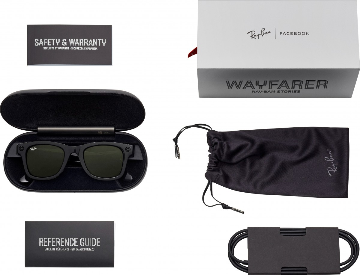 Facebook and Ray-Ban's smart glasses leak ahead of launch