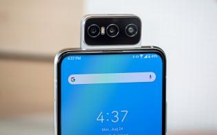 Zenfone 7 Pro and its flip-up camera