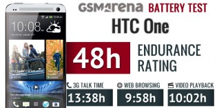 The HTC One (M8) (2,600 mAh) had much better battery endurance than the M7 (2,300 mAh)