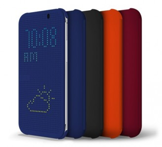 HTC One (M8) DotView case
