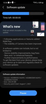 Samsung Galaxy A52s 5G gets more RAM with new update