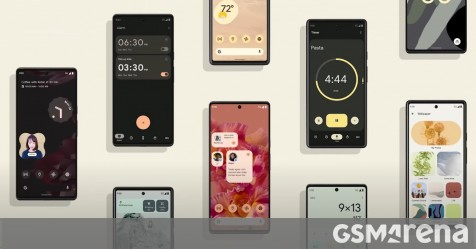 Google's first Pixel 6 ad shows it in people's hands, giving us another look at the new design thumbnail