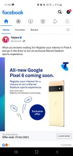 Telstra's promo campaign for the Pixel 6 series launch ends on October 19