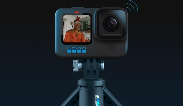 GoPro Hero10 Black in modalità webcam (Foto: GoPro)
