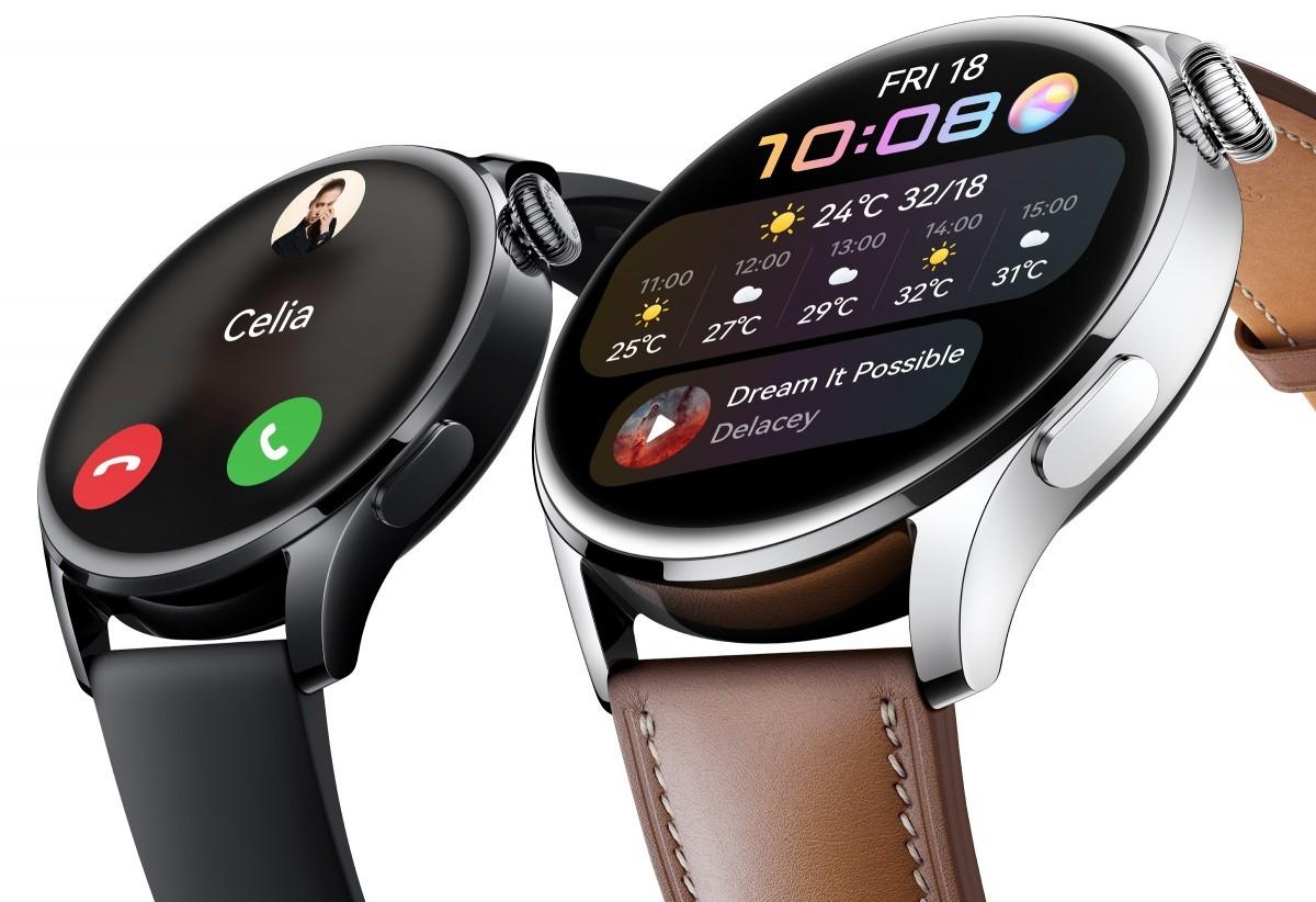 Huawei Watch 3 gets HarmonyOS 2 in China