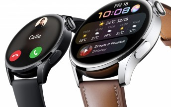Huawei Watch 3 gets updated with new features
