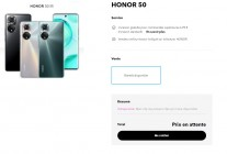 The Honor 50 is already listed on hihonor.com in several European countries