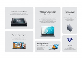 Honor MagicBook 14 and 15 highlights