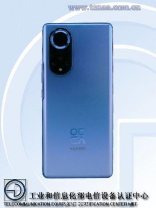 Huawei nova 9 on TENAA