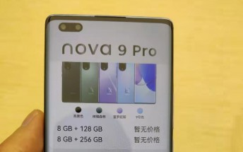 Huawei nova 9, 9 Pro appear in new live images, confirm previous rumors