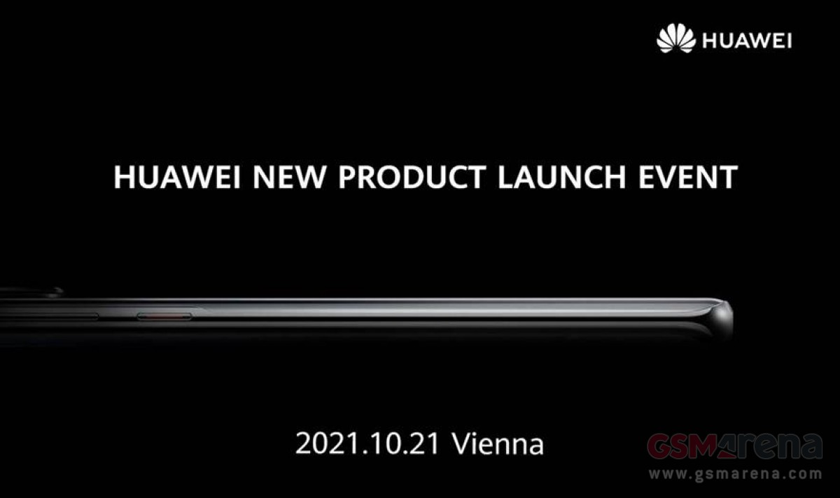 Huawei schedules a new product launch event for October 21