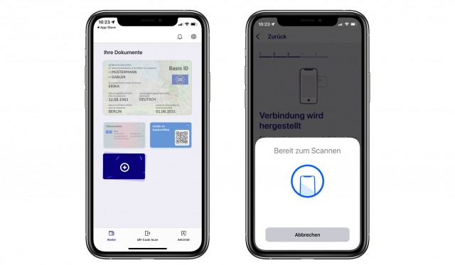 ID Wallet app with added driver's license