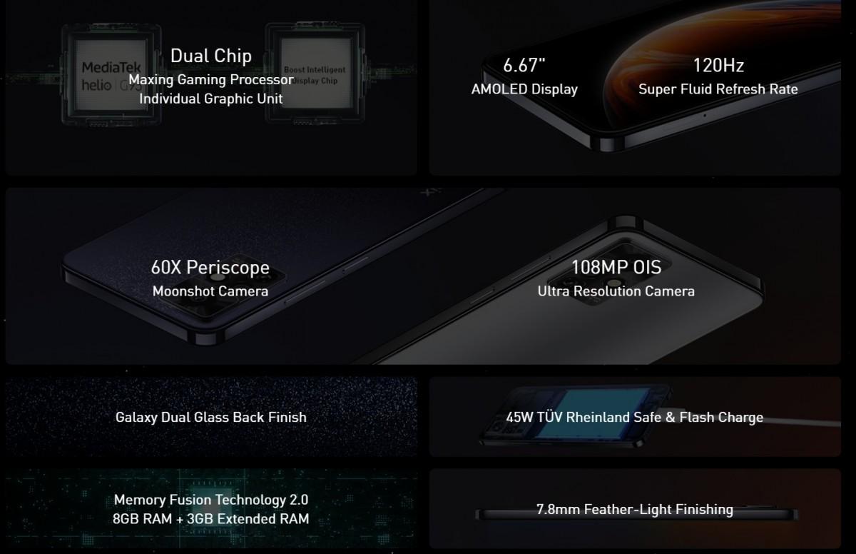 Infinix Zero X Pro highlights