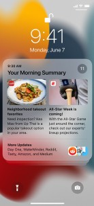 New in iOS 15: Redesigned notifications