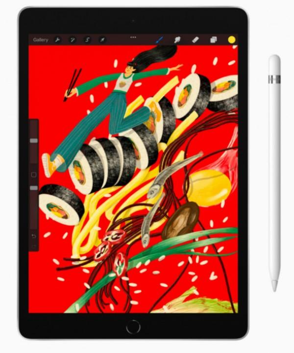 Apple upgrades the standard iPad, the iPad mini gets a bigger revamp