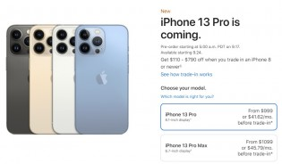 The iPhone 13 series will be available for pre-order later this week