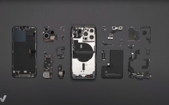 iPhone 13 Pro teardown reveals 3,095mAh battery and Qualcomm X60 5G modem