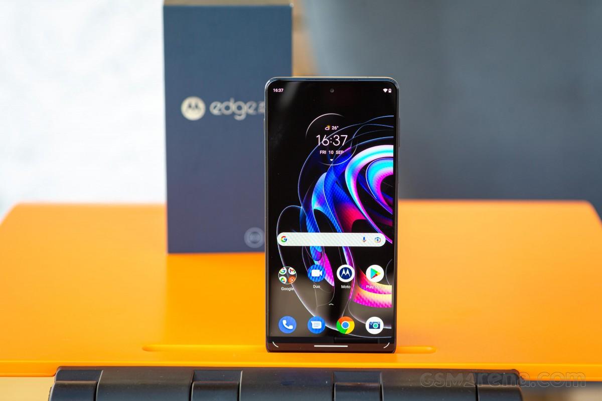 Motorola Edge 20 Pro in for review
