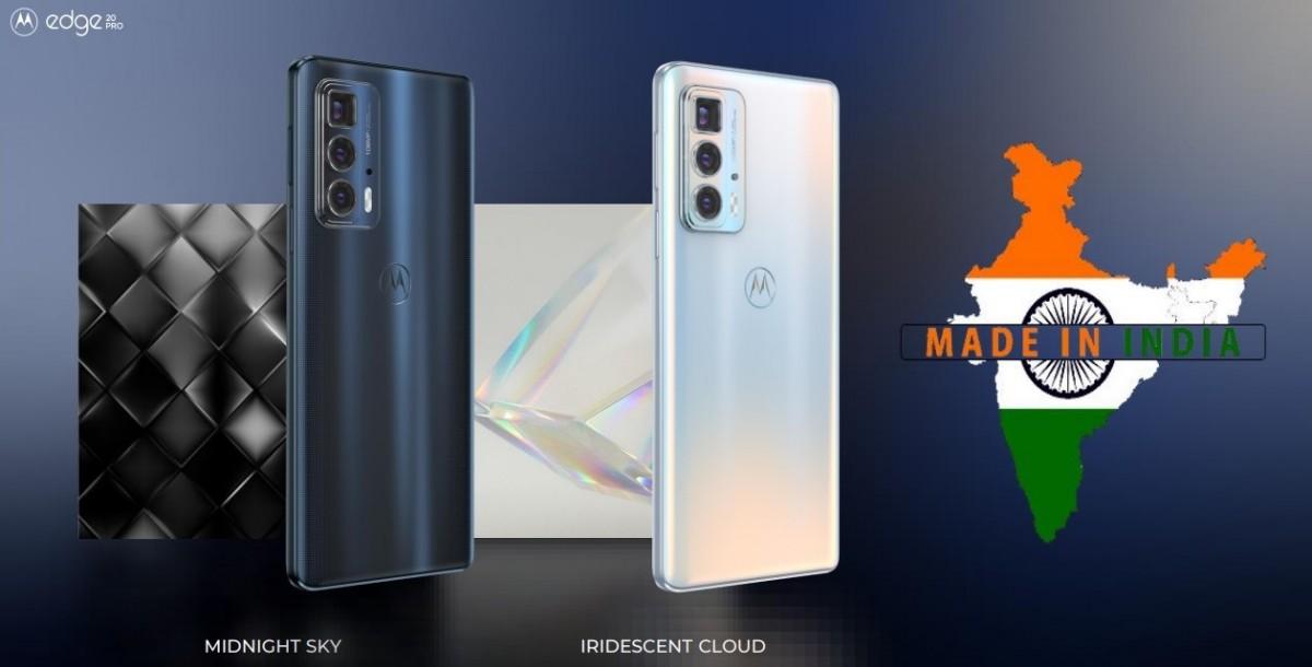 Motorola Edge 20 Pro launched in India
