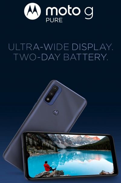 Motorola Moto G Pure poster