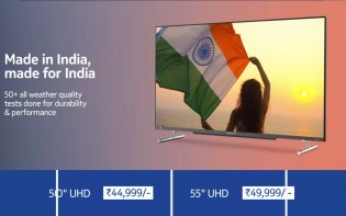 The QLED models are INR 5,000 more expensive, but they have better screens