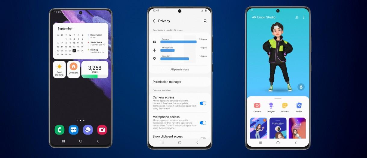 Samsung opens One UI 4 beta based on Android 12 - GSMArena.com news