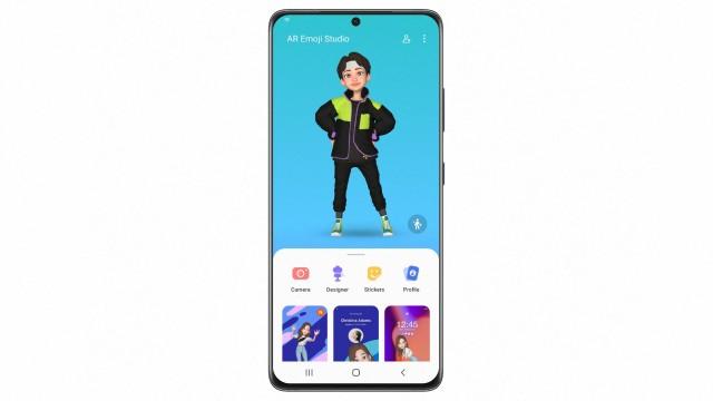 One UI 4 AR Emoji Studio (image: Samsung)