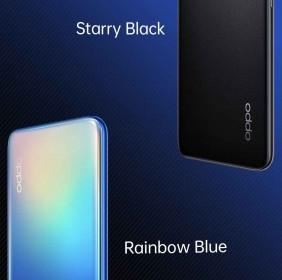 Oppo A55 tendrá dos opciones de color y contará con un escáner de huellas dactilares de montaje lateral