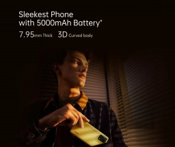 Oppo F19s is touted as the sleekest phone with 5,000 mAh battery