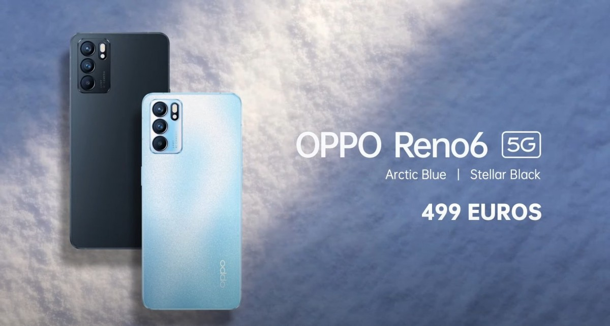 Oppo Reno6 5G and Reno6 Pro(+) 5G are now available in Europe, 4G version coming soon