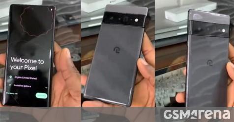 Google Pixel 6 Pro prototype leaks in hands-on video