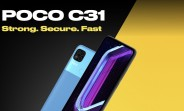 Poco C31 arrives with Helio G35 and 5,000 mAh battery