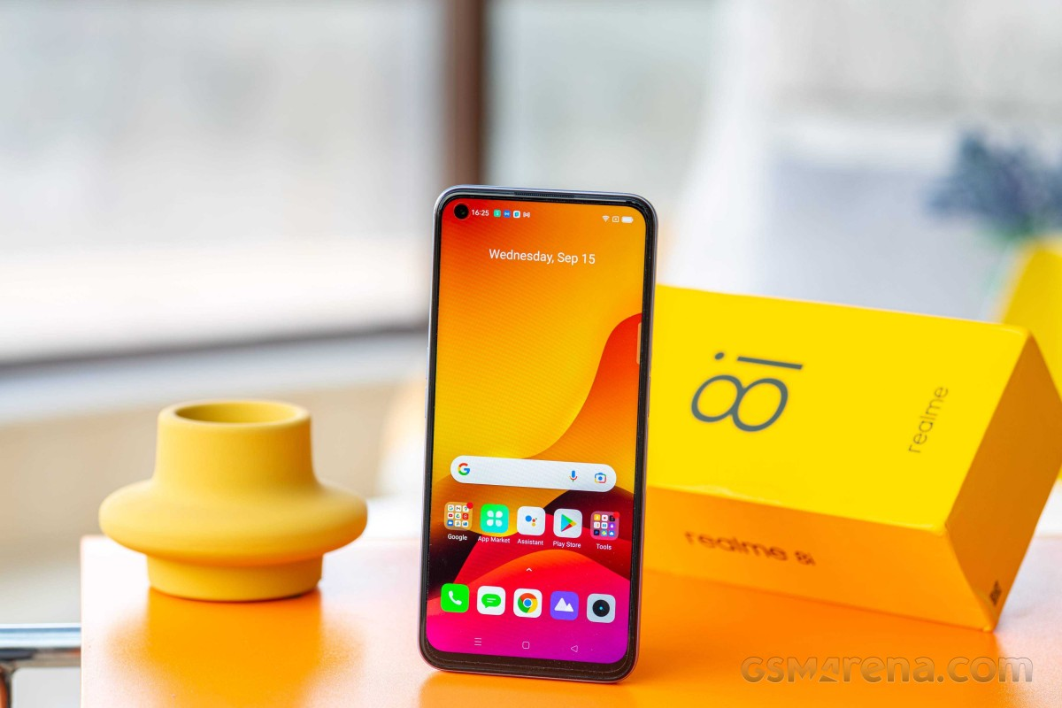 Realme 8i in for review