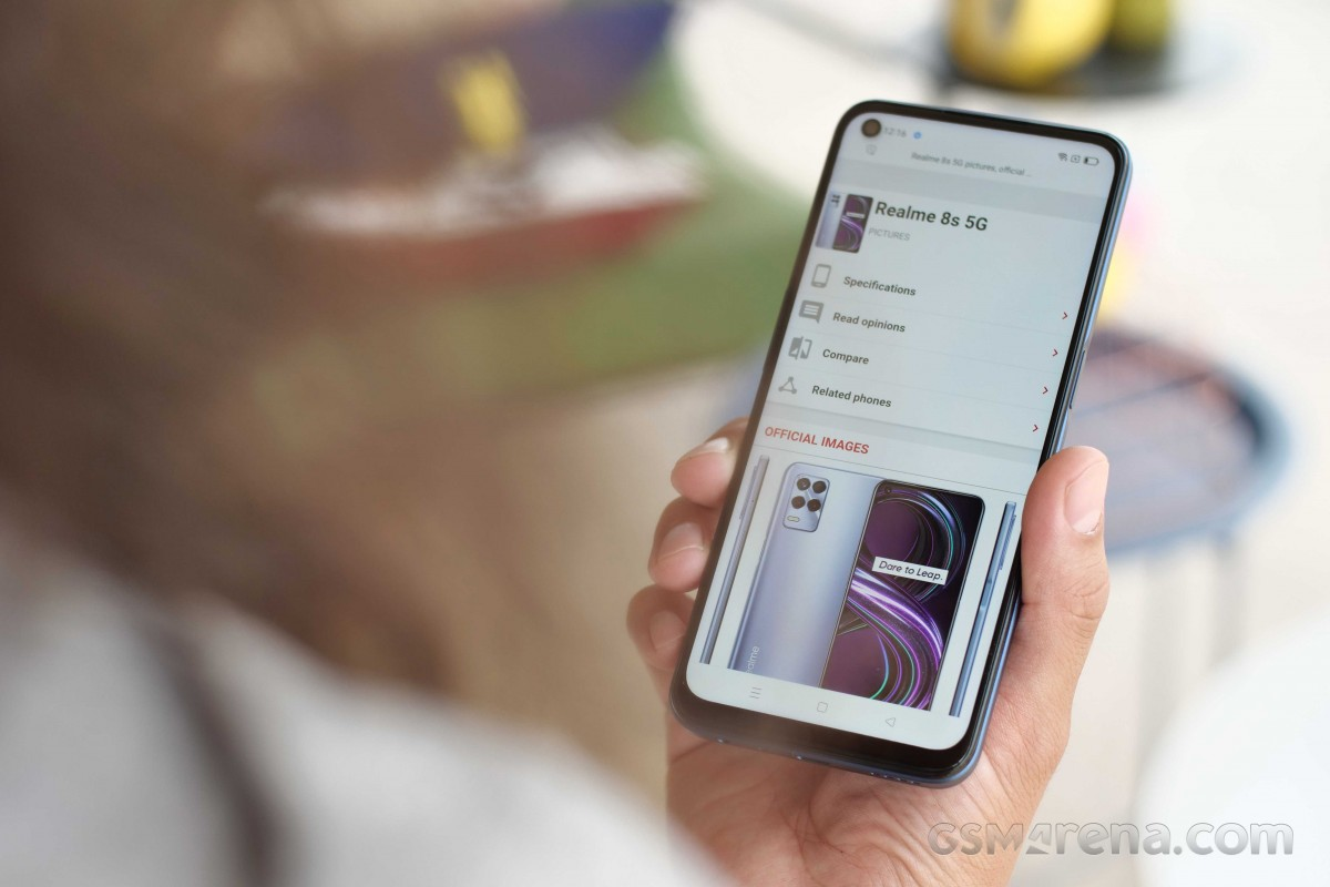 Realme 8s 5G in for review